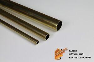Messing-Messingrohr-Durchmesser-50x1-mm-100mm-Laenge-CuZn37-MS63-Rohr