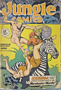 Jungle-Comics-Merchants-of-Murder-Golden-Age-1948-108-Kaanga-Canukka-Tabu