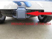 2 Black Trailer Hitch Receiver Cover Plug Cap Suv Truck Gm Ford Jeep Dodge