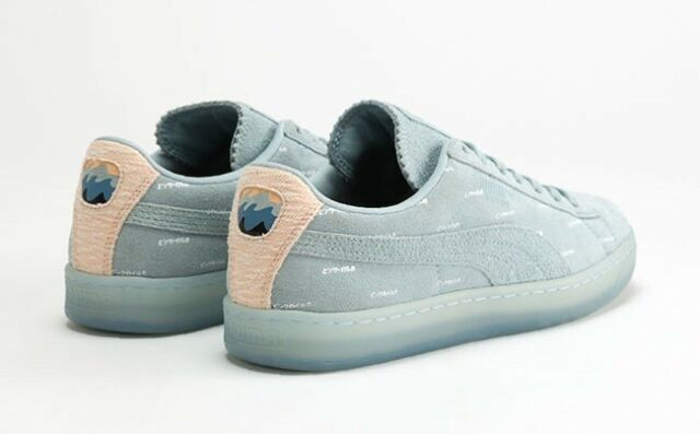 PUMA X Pink Dolphin White Leather Clyde