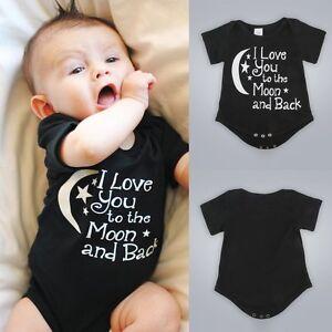 Neugeboren Kinder Toddler Baby Jungen Short Sleeve Romper Strampler Kleidung