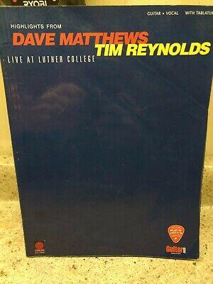 Dave Matthews & Tim Reynolds - Live at Luther College ...