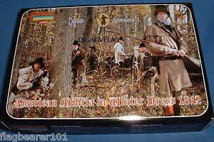 STRELETS-M-98-AMERICAN-MILITIA-IN-WINTER-DRESS-WAR-OF-1812-1-72-SCALE-48-Pcs