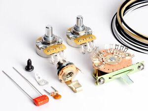 toneshaper wiring kit telecaster sss2 nashville 852606002571 ebay. Black Bedroom Furniture Sets. Home Design Ideas