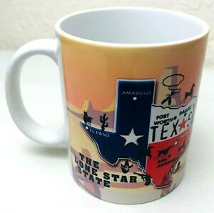 The-Lone-Star-State-Texas-Souvenir-Coffee-Mug-Cup-by-PCF-Souvenir-Collection