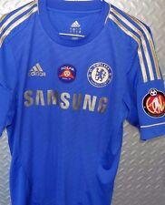 15712 Mens England Chelesa Football SHIRT / Jersey Samsung ~ Adidas ~ Small