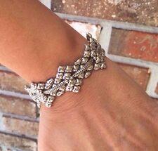 NEW AUTHENTIC Liquid Metal Sergio Gutierrez Magnetic Silver Bracelet B84 RETIRED