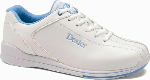 Dexter Raquel Women/'s Bowling Shoes White and Blue size 7.5