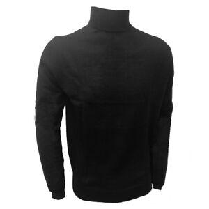 Maglia uomo Liabel con collo dolcevita liscio in misto lana liscia art 5136-153