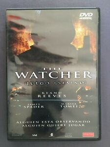 DVD-THE-WATCHER-JUEGO-ASESINO-Keanu-Reeves-James-Spader-Marisa-Tomei-CHARBANIC