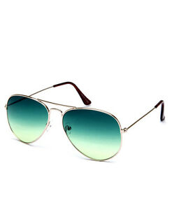 Sunglasses in Aviator Style  In LAvish Green (In Case & Wiping Cloth)(Goggles)