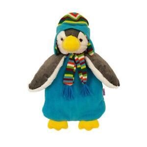 Wärmflasche mit Bezug Pinguin Paul   Wärmetier   Wärmekissen   Kuscheltier