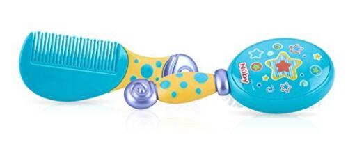 Baby Kids Bath /& Comb Set Soft Bristles With Comfort Grip Handles BPA Free Nuby