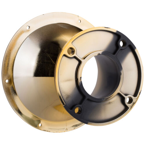 """PRV Audio WGP14-50 Gold 2/"""" 45 x 45 Waveguide 4-Bolt"""