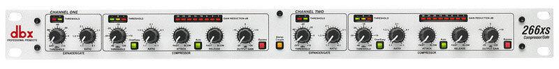 Dbx 266xs 2 Channel Dual Compressor Gate Audio Prozessor Rackmount 266 xs Neu
