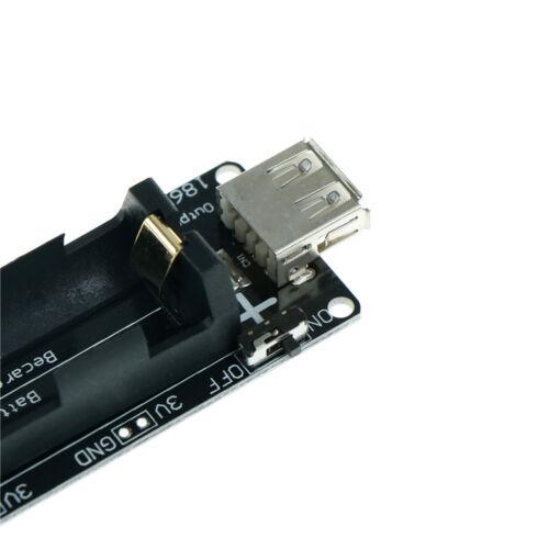 Micro USB Wemos ESP32 18650 Battery Shield V3 ESP-32 LED for Arduino Raspber.z