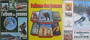 Lot-3-l-039-album-des-jeunes-1963-1968-1982-Reader-039-s-Digest