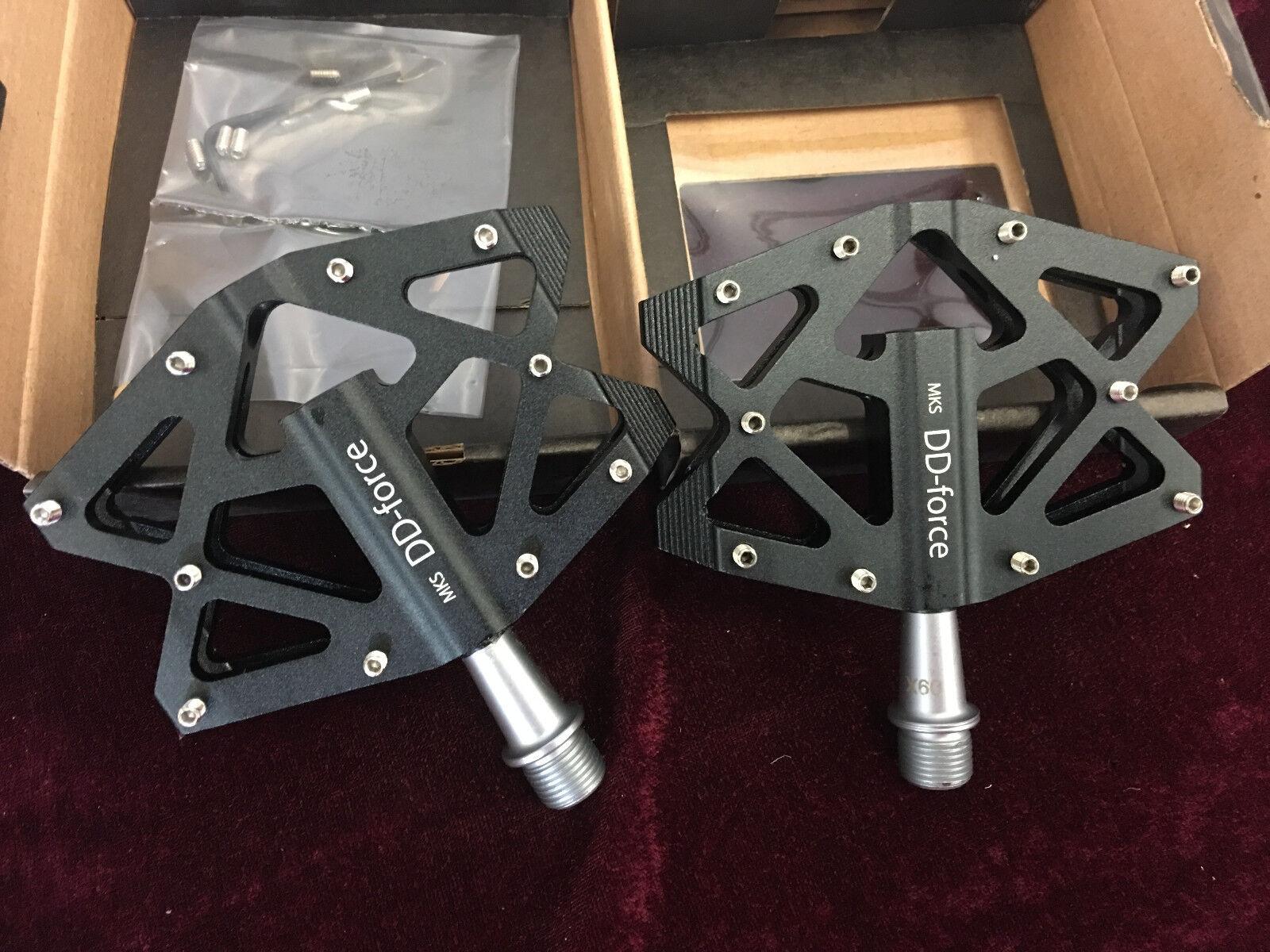 - MKS DD Force Pedal CNC Mecanizado plano (Negro)