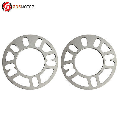 5x110 5x114.3 4x 3mm Universal Wheel Spacers 5x112* Fits 4x98 4x100  5x100