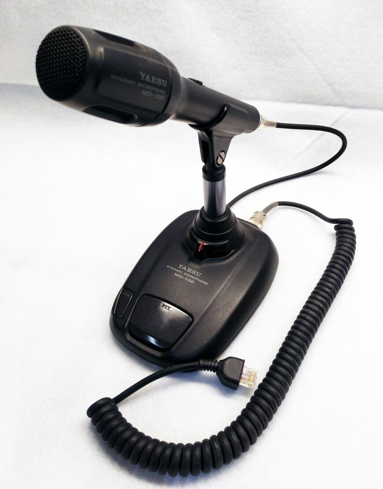 Yaesu MD-100A8X Dynamic Desk Microphone. Buy it now for 200.00