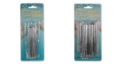 2 Sets EZ Jump Ring Maker Outil ~ Make 8 Tailles que vous voulez de 4 mm à 16 mm Mandrins