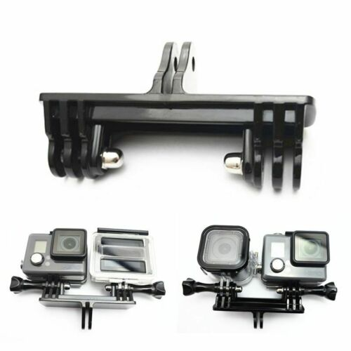 Adapter Mount Double Bracket For Two Cameras for Gopro Hero 7 6 5 and Other