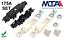 175A Mega Halter Set Megasicherung Sicherungshalter Flachsicherung Qualitätsware
