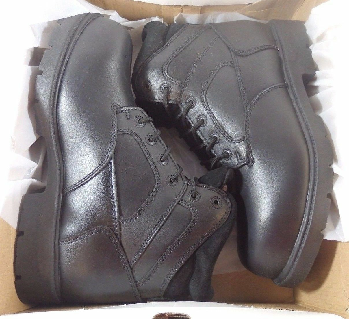 Rucks botas de trabajo, para hombres Acero Dedo. 6  W5950