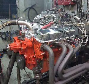 MOPAR DODGE 340 - 407 HORSE COMPLETE CRATE ENGINE/PRO-BUILT/ 408 360