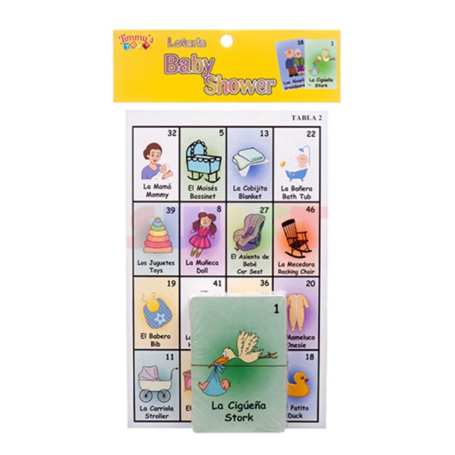 Wild Safari Baby Shower Bingo Game For Sale Online Ebay