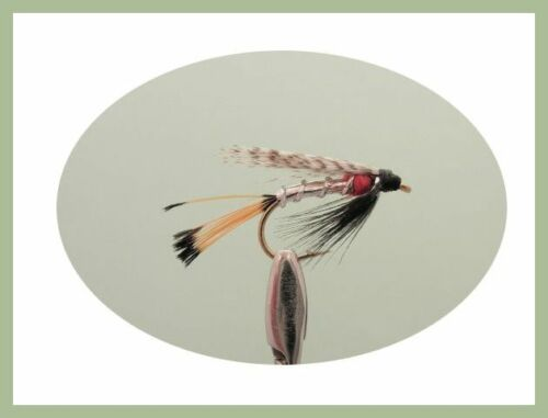 40 Boxed Set Mix of varieties and sizes Wet Trout Flies For Fly Fishing