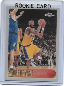 1996-97 Topps Chrome #138 Kobe Bryant Rookie Los Angeles Lakers