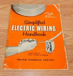 Excellent Sears Roebuck Co Simplified Electric Wiring Paperback Handbook Wiring Cloud Hisonuggs Outletorg