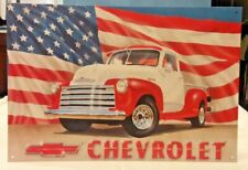 1966 CHEVROLET FLEETSIDE PICKUP TRUCK Vintage Look METAL SIGN DILLON MONTANA