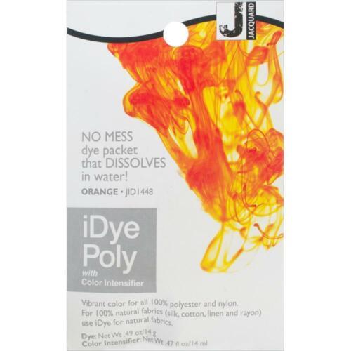 Jacquard iDye Fabric Dye Poly /& Nylon 14g Orange