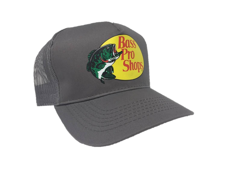 Buy Bass Pro Shops Mesh Adjustable Snapback Trucker Baseball fishing ... 9c10140f99a