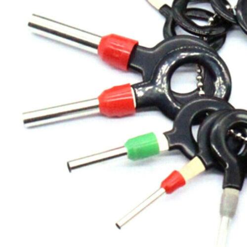 26Pcs Auto Kit Terminal Entfernung Elektrisch Stecker Werkzeug Ejektor Teile