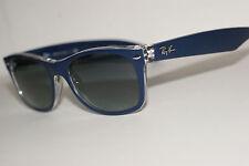 RAYBAN SUNGLASSES  2132  BLUE 6053/71  ANTI  GLARE 55MM  NEW  WAYFARER
