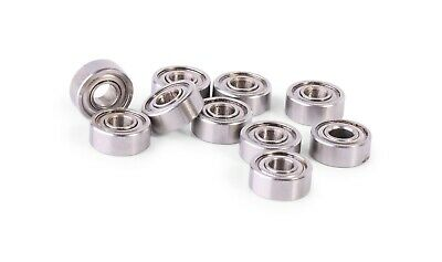 MR104ZZ  4*10*4  4x10x4mm Metal Shielded Ball Bearing Bearings 10 pcs