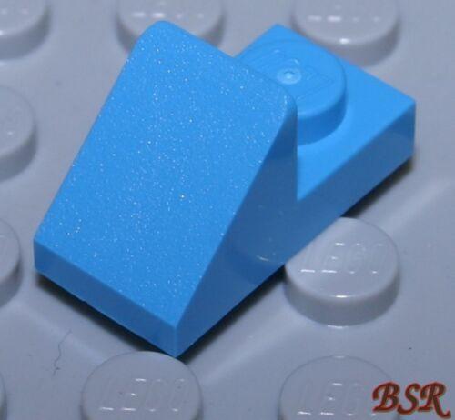 BB03 10 Stück dark azur blaue 1x2 Platte /& 1x1 Dach Stein 15672 /& NEU !