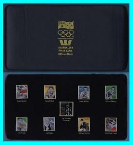 SYDNEY-2000-OLYMPIC-GAMES-LIMITED-EDITION-W-Australia-First-Bank-Gold-Pins