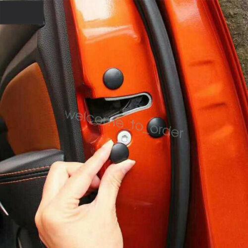 12x Universal Car Auto Interior Door Lock Screw Protector Cover Cap Trim Useful