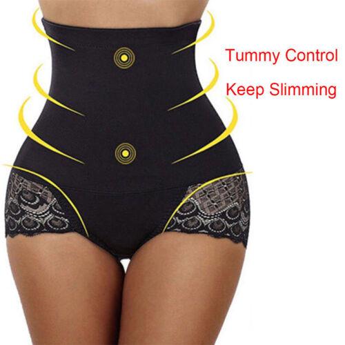 Ladies High-Waist Body Shaper Slimming Tummy Control Shapewear Pants Underwear