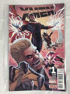 Uncanny-X-Men-No-1-March-2016-Marvel-Comics-Bunn-Land-Leisten-Woodward