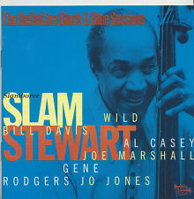 SLAM STEWART  CD SLAMBOREE  BLACK AND BLUE SESSIONS