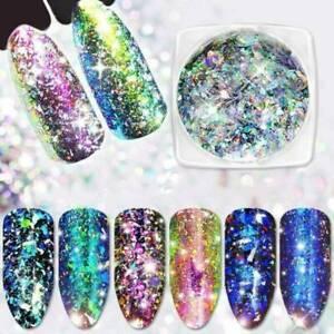 Magic-Laser-Pigment-Chameleon-Flakes-DIY-Nail-Art-Decor-Chrome-Glitter-Powder