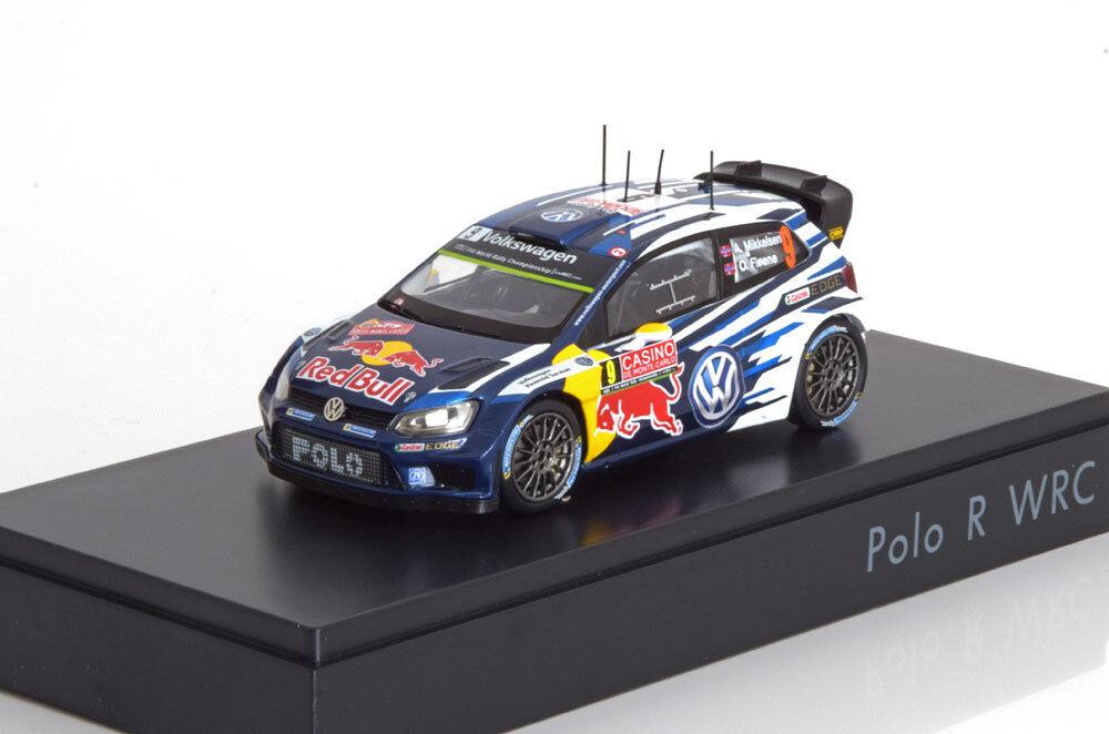 VW POLO R WRC  9 MIKKELSEN FLOENE 2015 SPARK 6C1099300C  VOLKSWAGEN RESINE