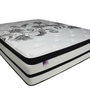 """CORNWALL MATTRESS SALE - QUEEN SIZE 2"""" PILLOW TOP MATTRESS FOR $199 ONLY DELIVERED TO YOUR HOUSE Cornwall Ontario Preview"""