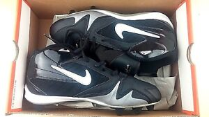 new style 6e822 a8ebf Details about Nike Mens Size 8.5 Strike Force 34 Baseball Cleats shoes  Black New MSRP 65