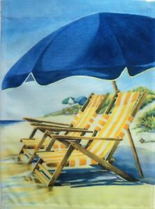 Water's Edge Beach Garden Flag by Toland #152, Ocean, Vacation